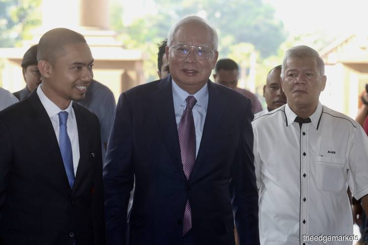 Najib-SRC trial: Ex-premier paid RM2.3m to Umno, Upko in 2014-2015, cheques record show