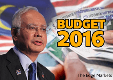 Malaysia's Budget 2016 to 'ensure economic growth stays on strong, stable path' - PM Najib