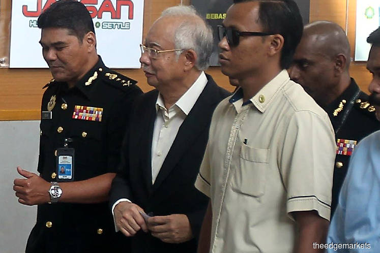 Najib, Justo pay second visit to MACC
