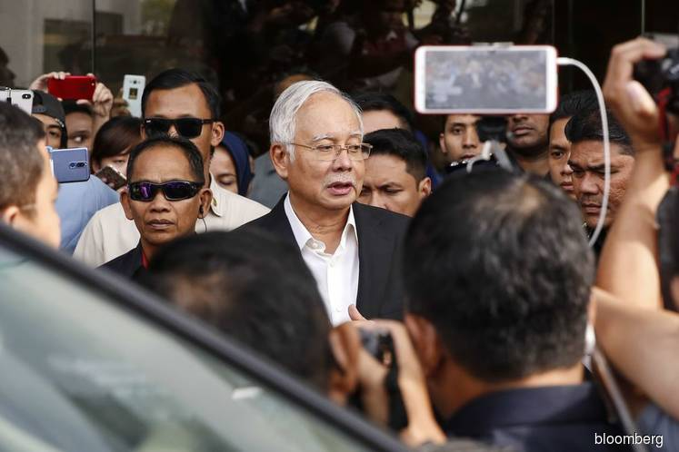 Najib says freezing of 1MDB-linked bank accounts unreasonable