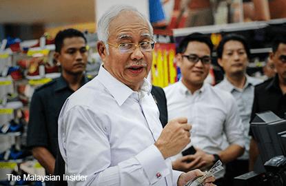 Najib won't sue WSJ in US