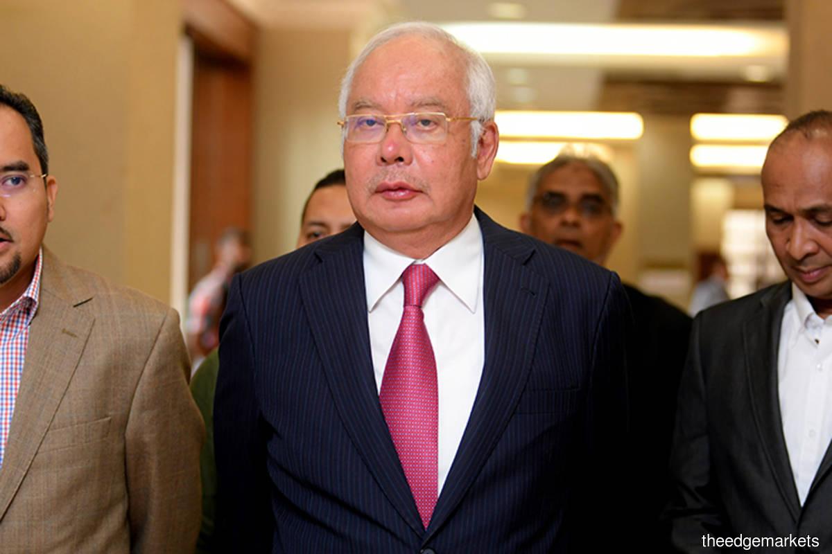Najib Razak (The Edge filepix)