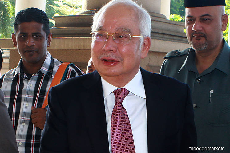 Najib claims his signatures on SRC documents were forged, manipulated