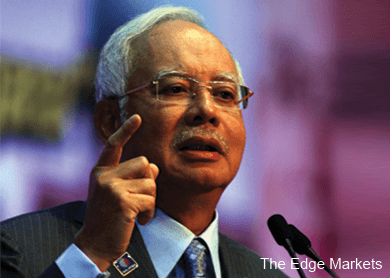 Malaysia's economy in stronger position to meet any incoming storms -Najib