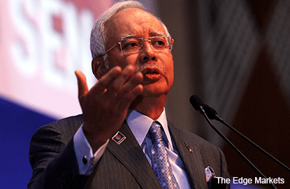 Malaysia Prime Minister Najib Razak's new year message