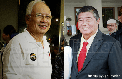 Up to me who I want to sue first, Najib tells Ling
