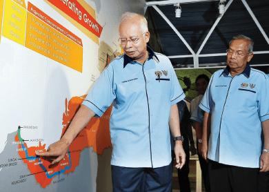 najib_sarawak-groundbreaking-ceremony_first-phase-Pan-Borneo-Highway