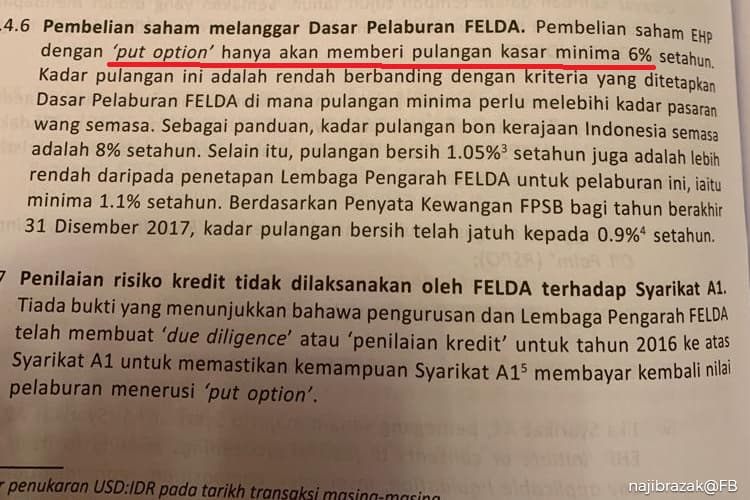 Felda could sell back Eagle High shares, says Najib, despite put option dispute