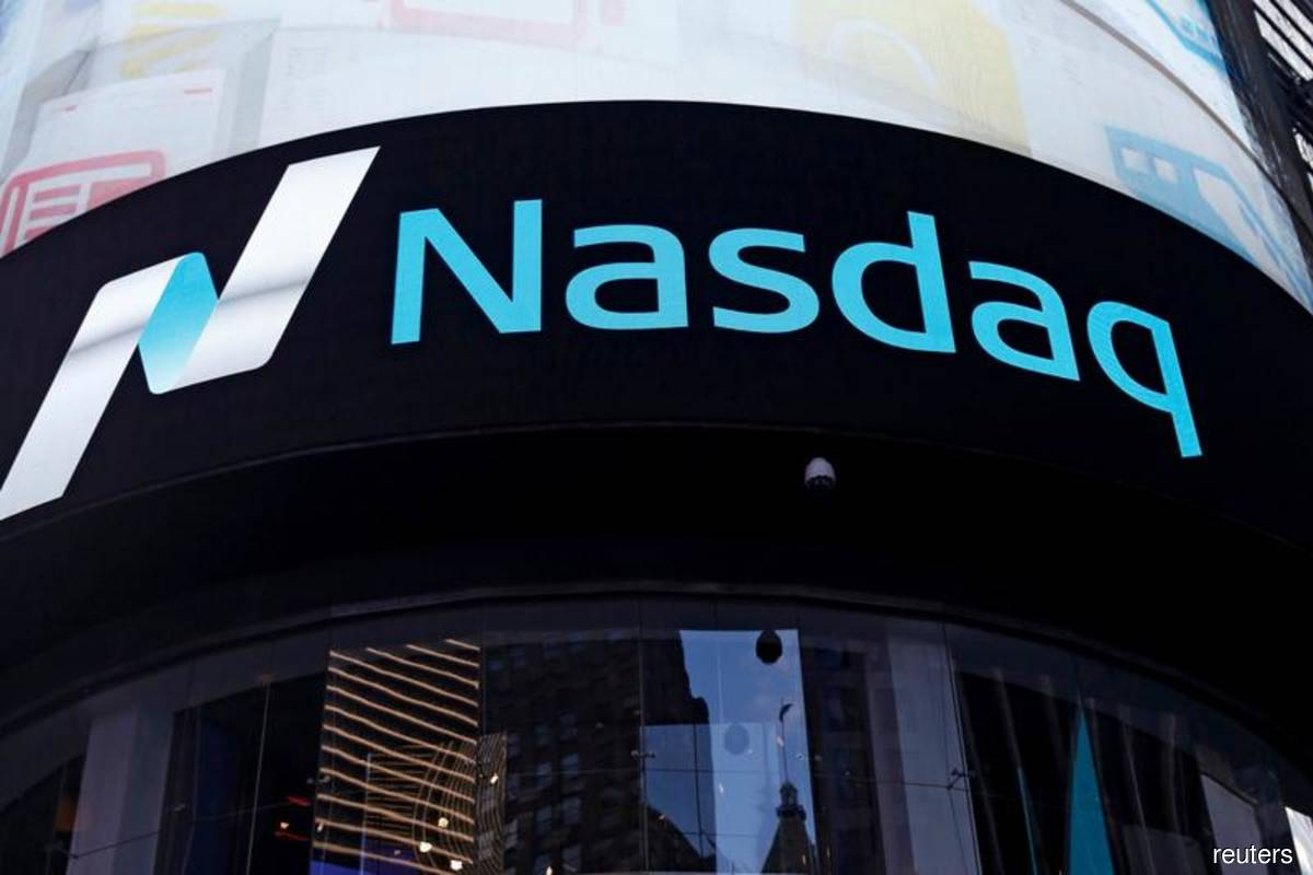 Nasdaq closes at record high as growth names get a lift