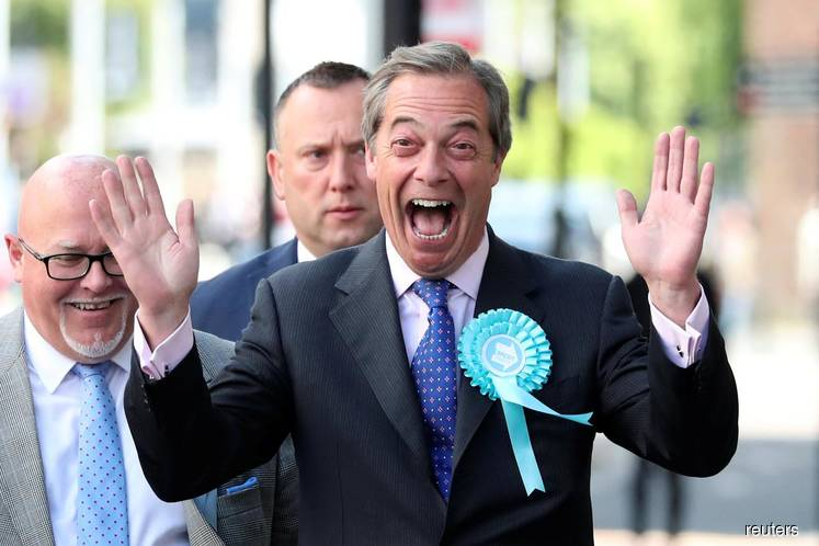 Brexit Party's Farage set to fight every seat in poll battle against PM Johnson
