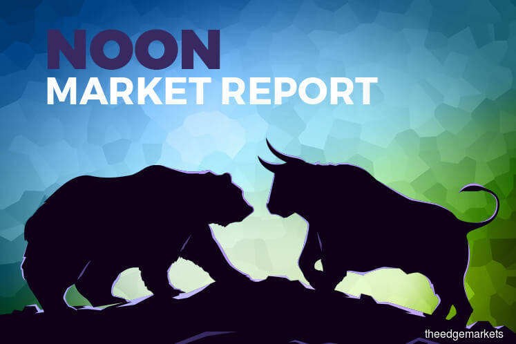 KLCI claws into positive territory as Tenaga lifts