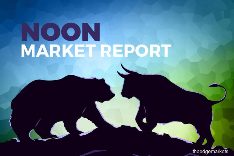 KLCI pares gains as regional markets lurch lower