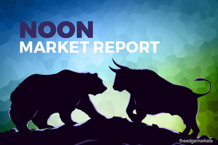 KLCI remains in negative zone as index-linked glove makers take a breather