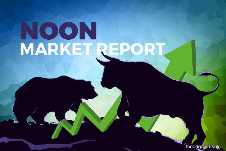 KLCI comes off morning high, appears to take a breather