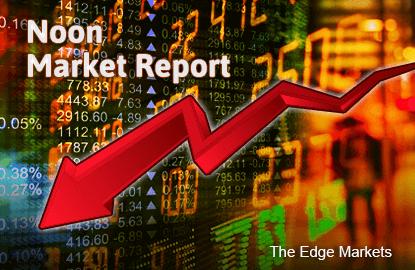 KLCI down on gloomy global markets, weak crude oil