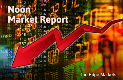 KLCI stays in negative zone as regional markets retreat