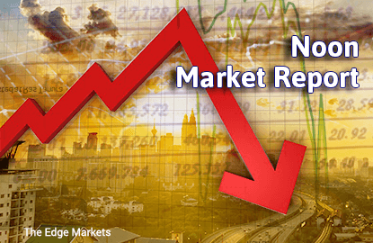 KLCI remains in negative zone in line with regional caution