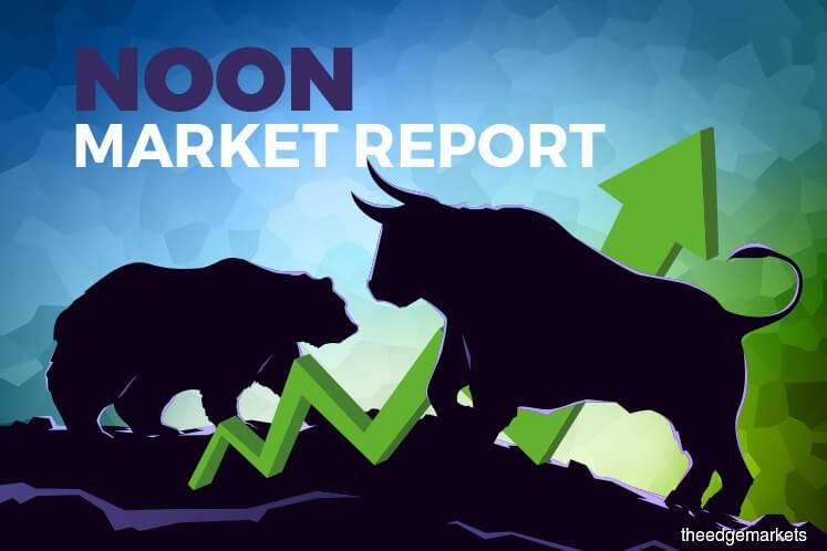 KLCI pares gains as neighbouring markets rally