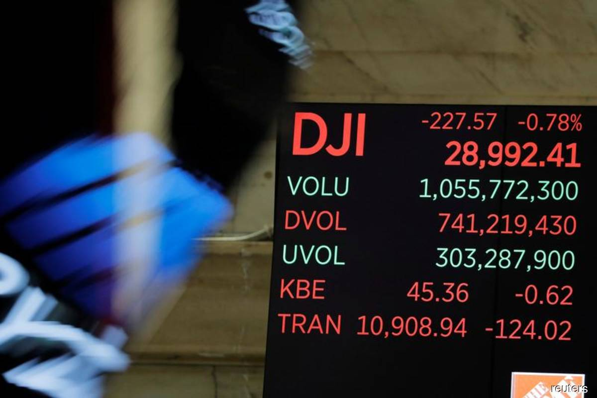 Wall St ends sharply lower as pandemic fears resurge