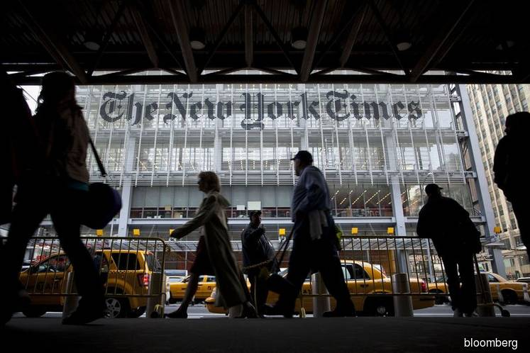 Trump campaign sues New York Times Co. over Russia op-ed