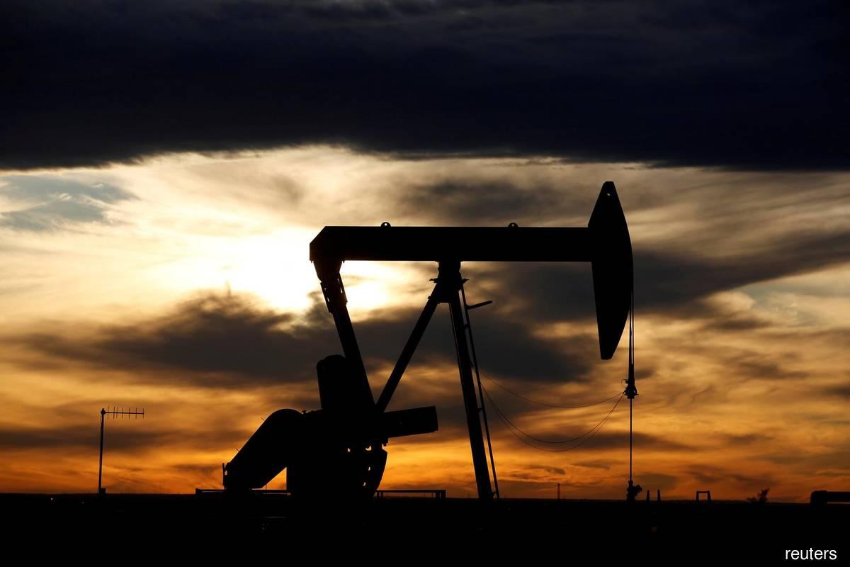 Oil up more than 4% as U.S. stockpiles fall, hurricane hits output