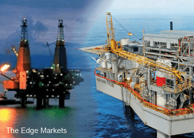 O&G stocks retreat as crude oil futures slide below US$35 a barrel