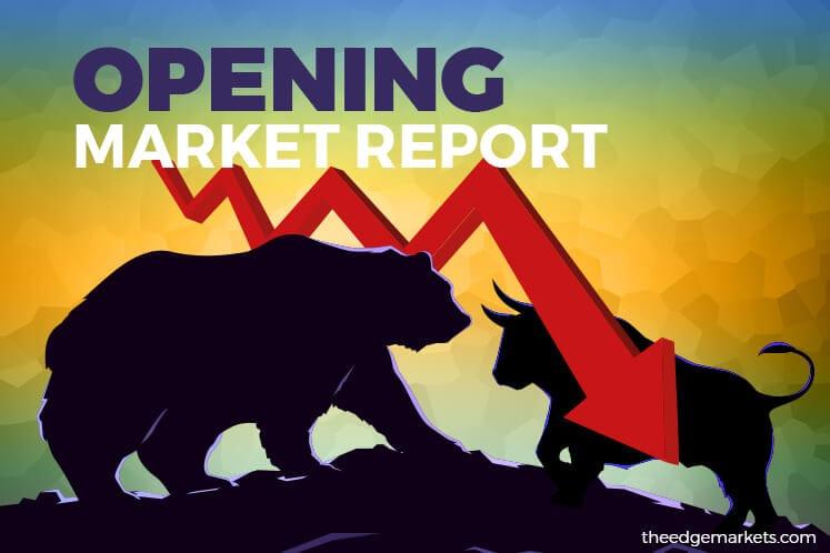 KLCI falls 0.43% on mild profit taking, index slips to below 1,600-level