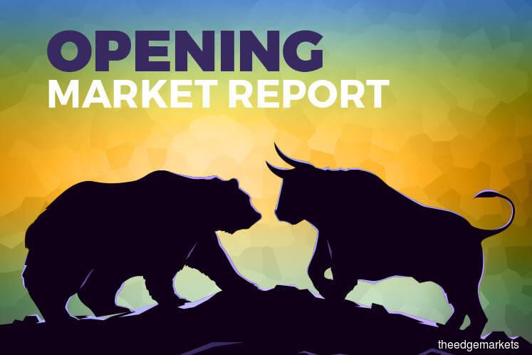 KLCI starts lower in line with frail regional markets