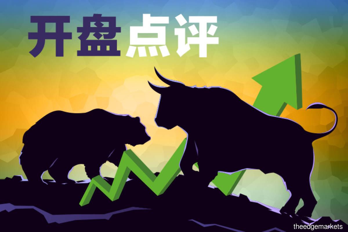 追踪亚股涨势 马股高开
