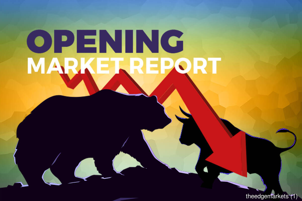 KLCI gets off to listless start, falls 0.68% in line with regional decline