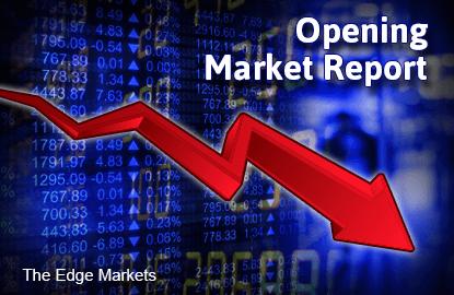 opening-market-down_theedgemarkets