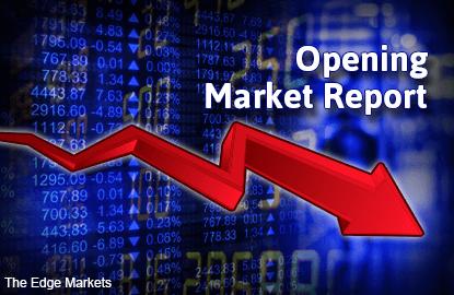 KLCI volatile, Asian shares down