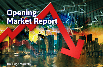 KLCI drifts lower in tandem with global slump