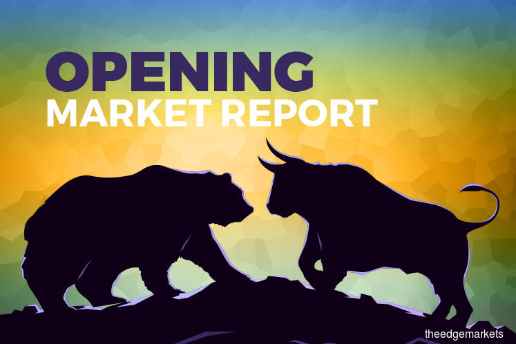 KLCI edges up marginally in line with regional gains, Public Bank and MISC lift