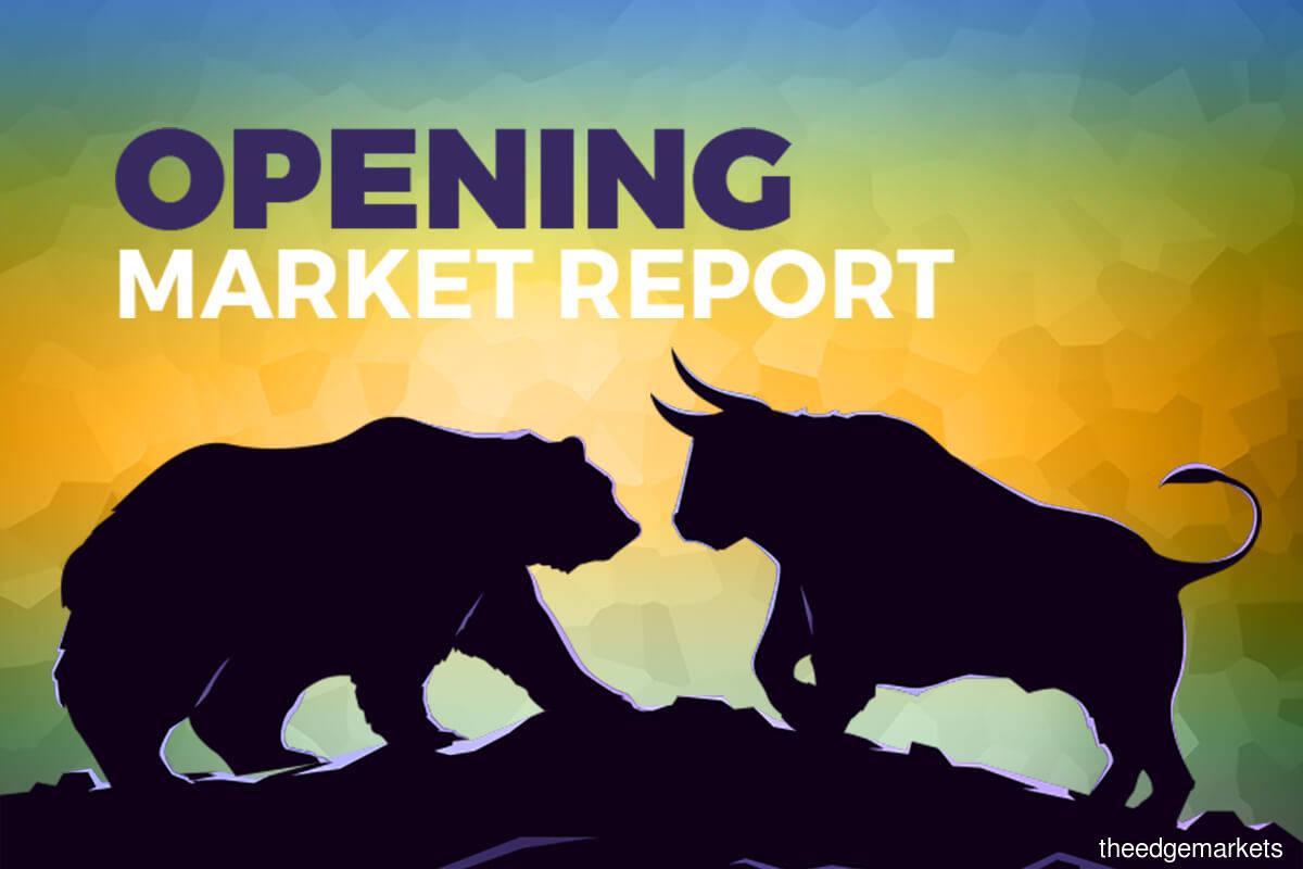 Bursa opens mixed, KLCI eases 0.08%