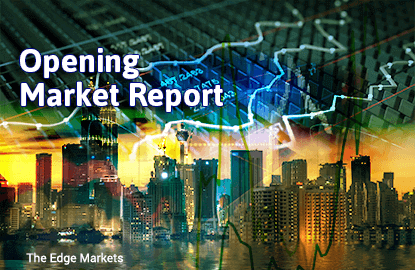 KLCI opens lower as investors take a breather