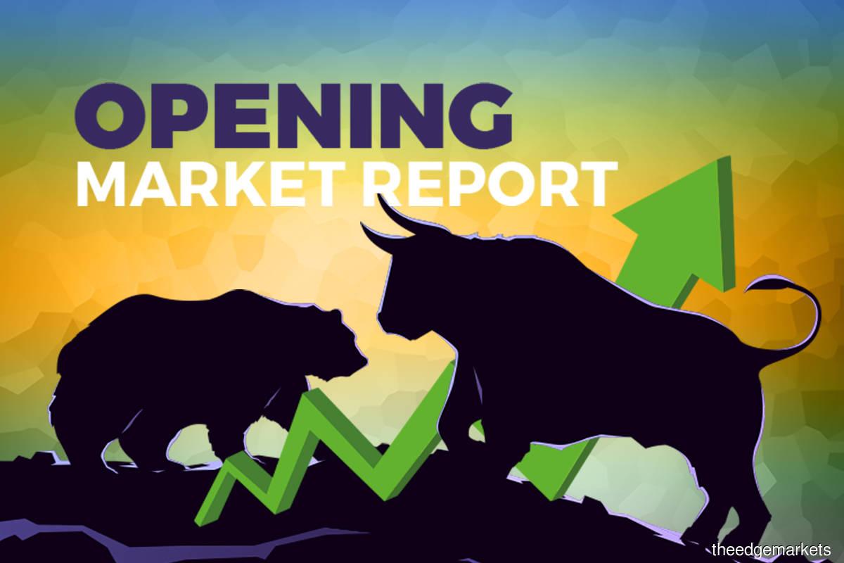 Bursa opens higher on steady CPO, Brent oil prices