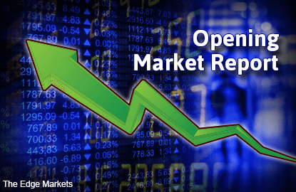 KLCI opens higher in line with regional gains