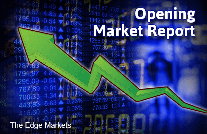 KLCI opens higher, eyes 1,600-level