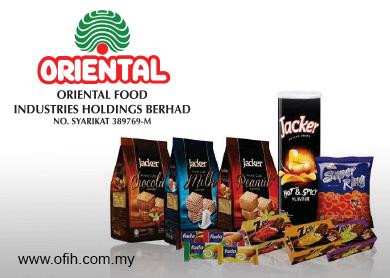 Oriental Food hits limit up