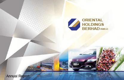Oriental Holdings 3Q profit surges almost 400% to RM339m as revenue rises