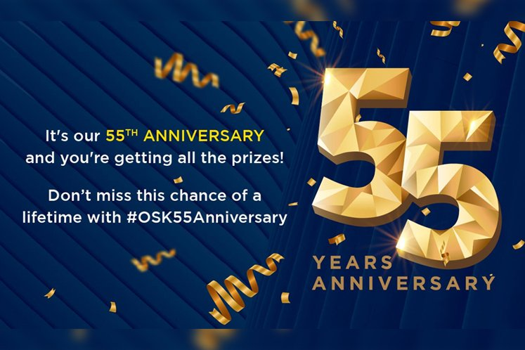 OSK Celebrates 55 Years with RM55* Booking