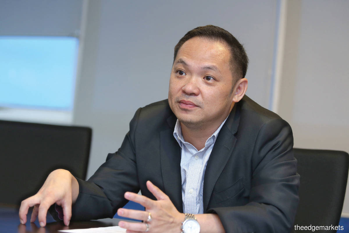 Leong: We have been hitting record highs in transaction payment value (TPV) since June, and in August, surpassed RM2 billion for a single month (Photo by Sam Fong/The Edge)