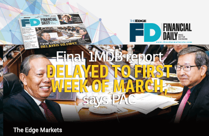 Final 1MDB report delayed to first week of March — PAC