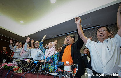 Pakatan Harapan is new opposition pact