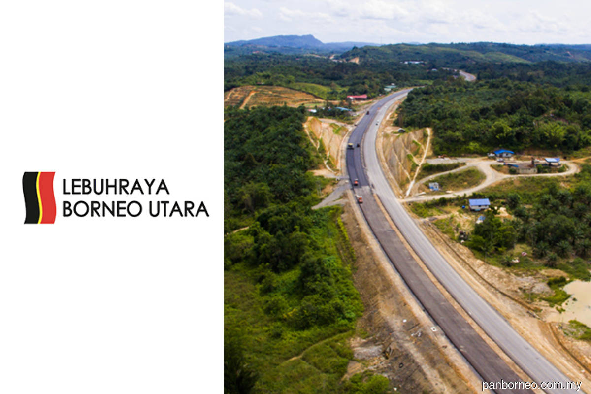 Pan Borneo Highways in Sabah, Sarawak 32% and 52% complete until June —Works Ministry