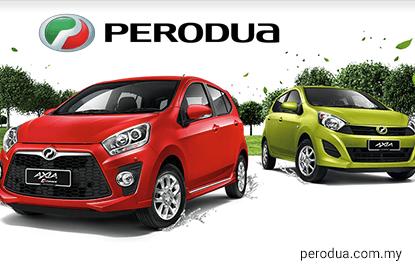 Perodua's 1Q16 sales down 17.4% to 47,200 units