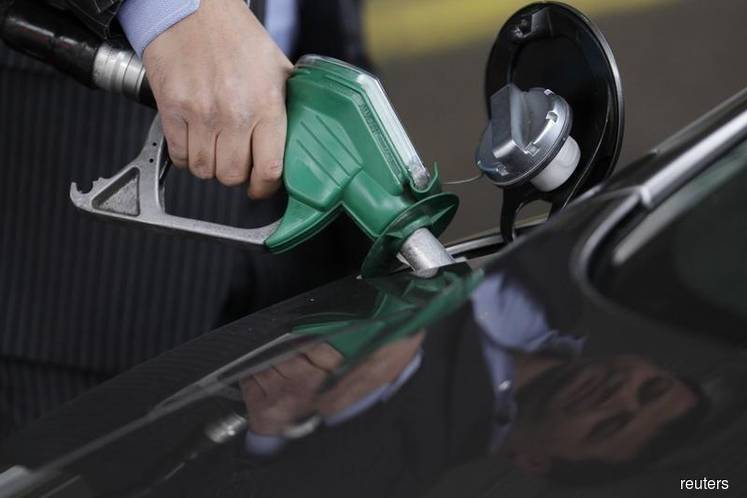 RON97 down 3 sen to RM2.38 per litre, RON95 and diesel remain unchanged