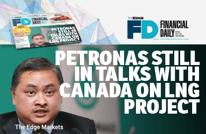 Petronas still in talks with Canada on LNG project