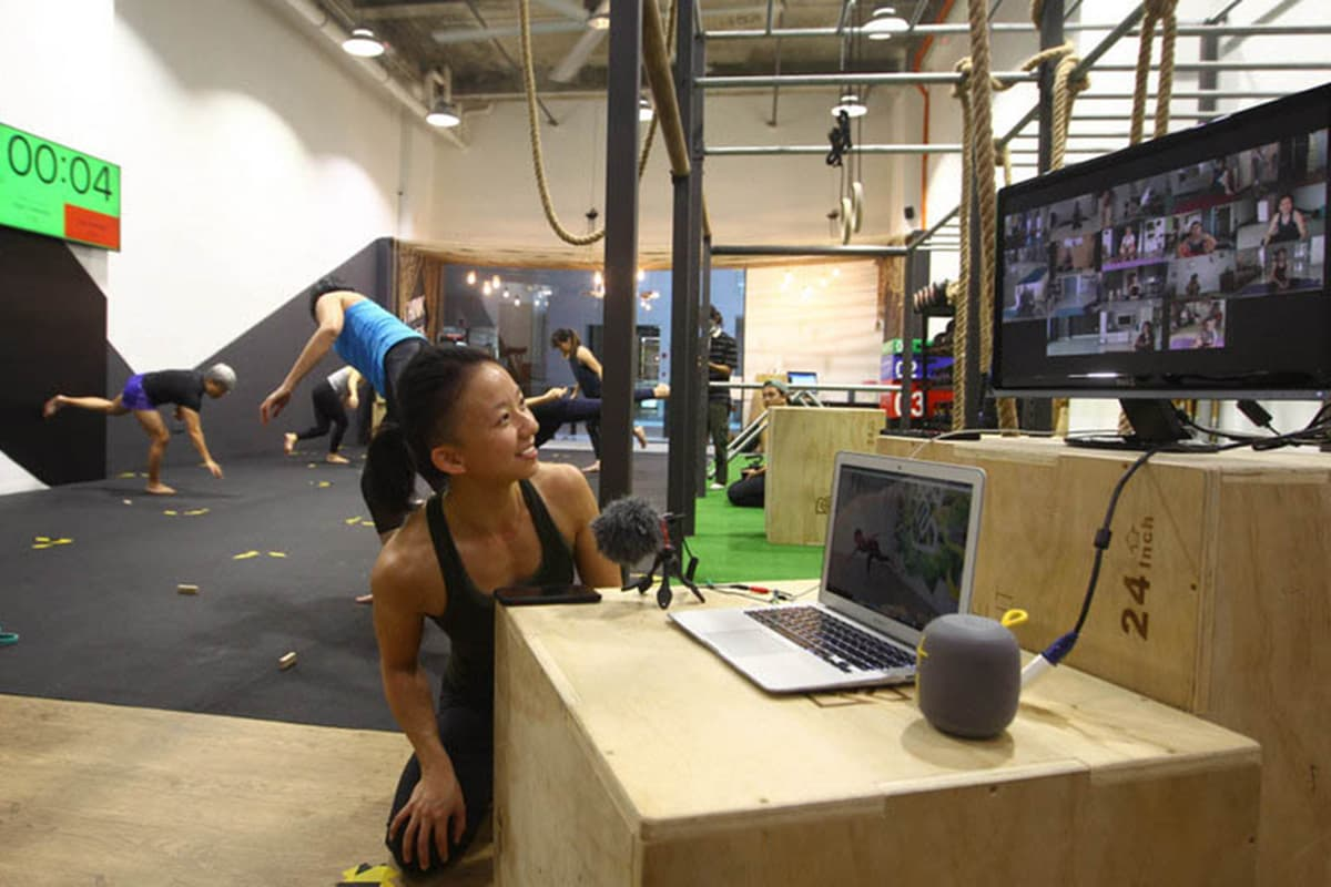 Breakfree Movement's virtual services kicked off with two weeks of complimentary fitness classes via Zoom for existing members